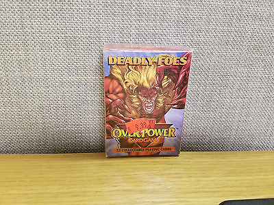 Marvel Overpower Card Game Deadly Foes Starter Deck, New!