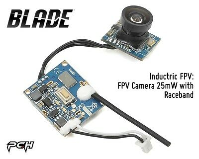 Blade Inductrix FPV Quadcopter Drone Camera 25mW with Raceband BLH8505