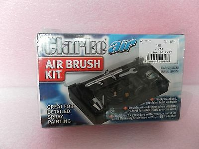 Double-action Trigger Air-paint Control Airbrush! by Clarke International