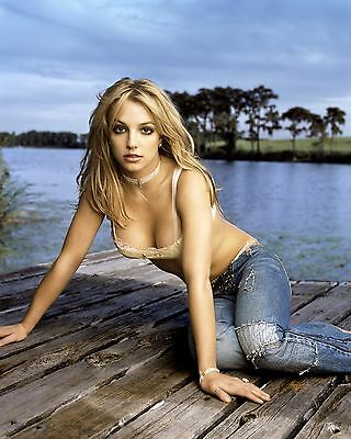 Britney Spears Unsigned 8x10 Photo (7)