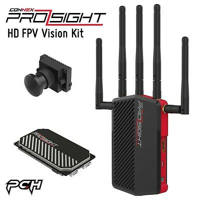The CONNEX ProSight Delay-Free HD FPV Vision Kit for Drone Quadcopter Racing