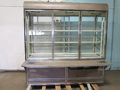"""""""structural Concepts"""" Commercial Lighted Self-Serve Donuts/bakery Display Case"""
