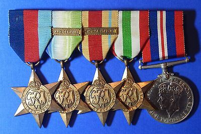 British World War 2 Medal Group Unnamed                                   Ab0131