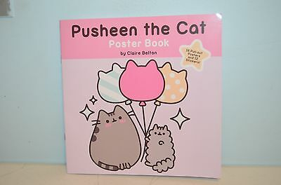 PUSHEEN THE CAT Poster and Sticker Book BRAND NEW