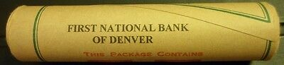 Uncirculated OBW Tails End Lincoln Wheat Bank Roll Sealed Original BU Penny Roll