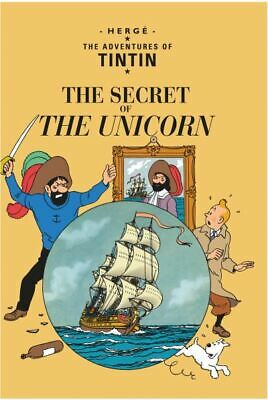 The adventures of Tintin: The secret of the unicorn by Herg (Paperback)