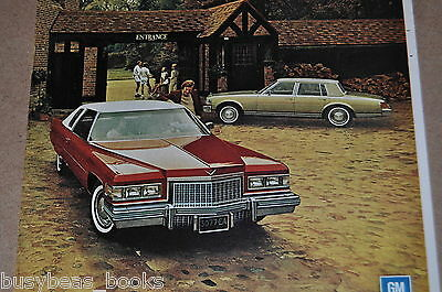 1976 Cadillac advertisement, CADILLAC Coupe de Ville and Seville