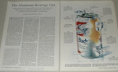 1994 article Aluminum beer cans, history, manufacture