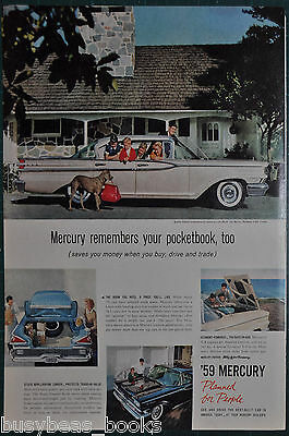 1959 MERCURY MONTEREY advertisement, Mercury Monterey 4-door Cruiser