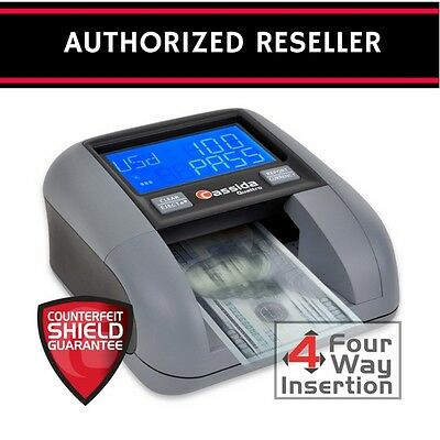 New Cassida Quattro 4-Way Automatic Counterfeit Detector Currency Check