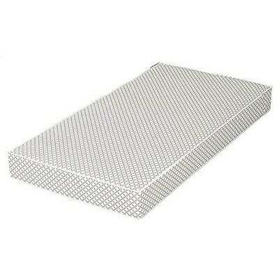 South Shore 100234 Somea Gray and White Baby crib and toddler mattress NEW