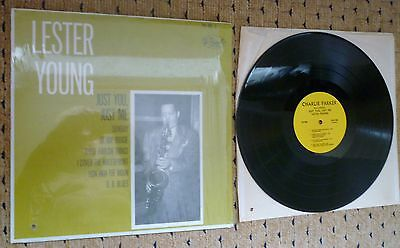 Plp 409-S Lester Young Just You Just Me Vinyl Lp Charlie Parker Jazz Records