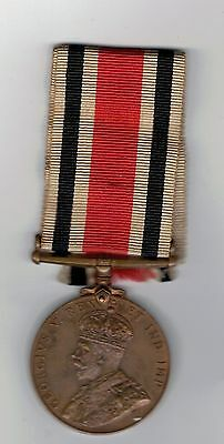 WW1 Special Constable Medal to HARRY MOODY