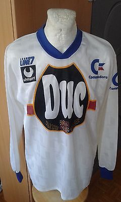 Uhlsport Germany Auxerre France French Vintage Maglia Shirt Jersey Rare Football