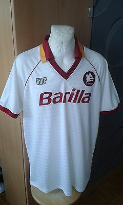 Ennerre As Roma Italy Barilla Vintage Maglia Shirt Jersey Rare Football