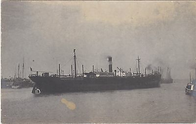 Shipping Harbour Mouth Where Postcard