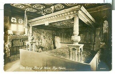 Vintage Hertfordshire, Ware The Great Bed of Ware in Rye House, RP unused