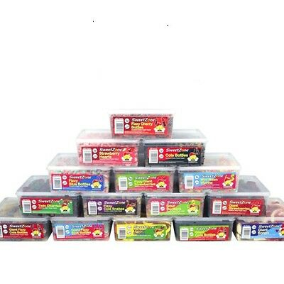 Sweetzone Halal Hmc Jelly Fizzy Pencils Candy Sweets Tubs Various Varieties