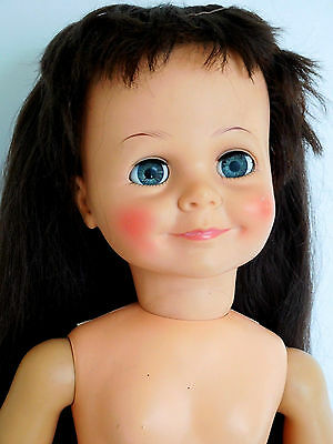 "Vintage 1960's Ideal 25"" Miss Ideal Terry Twist Playpal Brunette"
