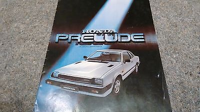 Classic Car Orginal Sales Brochure   1984 Honda Prelude