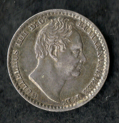William IV Maundy Penny Silver 1831