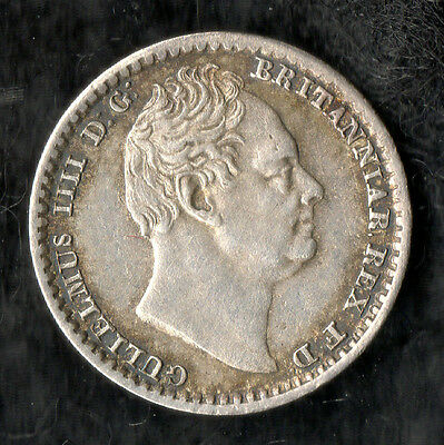 William IV Maundy Penny Silver 1832