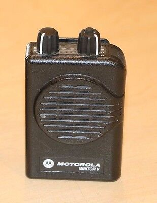 Set of 2 Motorola Minitor V  Voice , Fire EMS Pagers * Pre-owned*