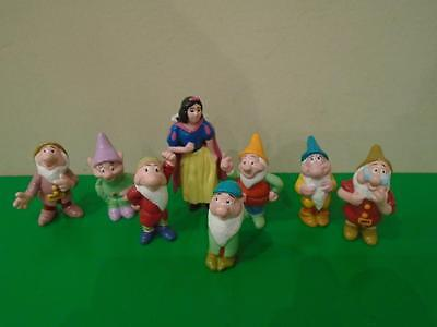 Snow White and the Seven Dwarfs Plastic Figures
