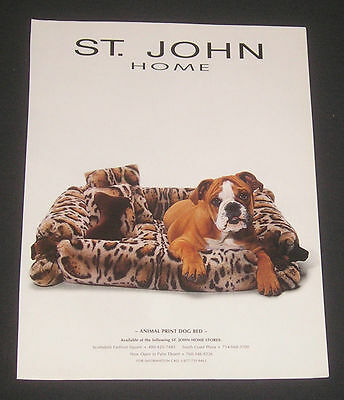 Lot of 4 Ads Boxer Dogs Dog Bed Purina & Pedigree Dog Food MAGAZINE ADS