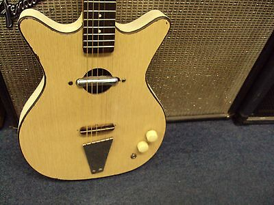 Danelectro Convertible Electric Guitar Vintage 1960s Nice Shape!