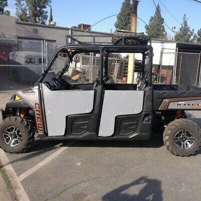 14-17 POLARIS RANGER Crew 900 1000 Pro One iTi Full Doors Steel Frame Alum  Skin