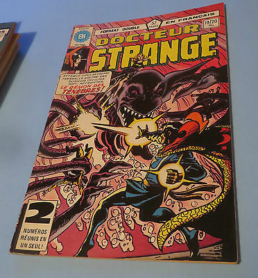 1981 DOCTEUR STRANGE  COMIC #19-20 FRENCH EDITION HÉRITAGE COMICS $2.00 shipping