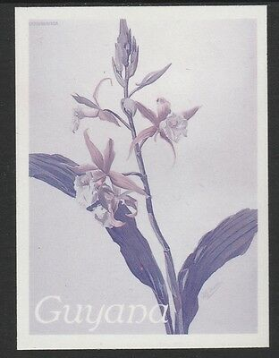 Guyana (1648) - 1985 Orchids TWO-COLOUR PROOF  unmounted mint