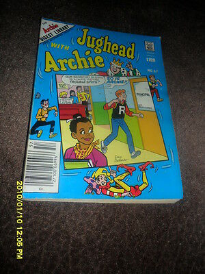 1983 The  Jughead With Archie Comic Book Digest Magazine #57