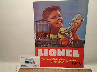 1946 Full Color Lionel Catalog Reproduction By Greenberg 1975