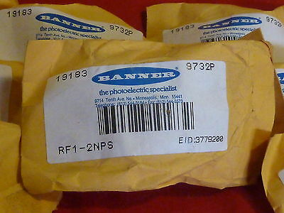Banner Rf1-2Nps *new* Cable Gland Assembly Lot Of 10
