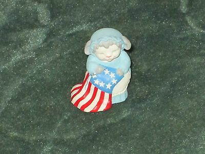 Hallmark Merry Miniature 1993 Betsey Ross Lamb - Independence Day - NEW