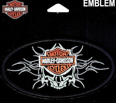 Harley Davidson Majestic Skull Vest Patch ** Obsolete Item **