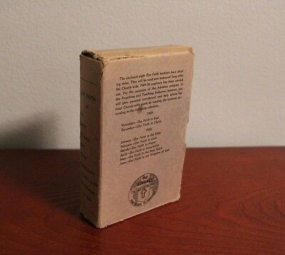 Vintage The Advance OUR FAITH Booklets 1949-50 Box Set of 8 Booklets