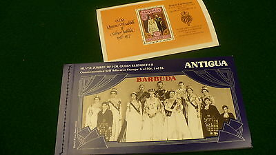 Antigua Barbuda $13 postage Queen Elizabeth Royal jubilee postage book P235