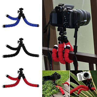 Universal Mini Flexible Tripod Mobile Phone Stand Holder For Gopro Camera/SLR/DV