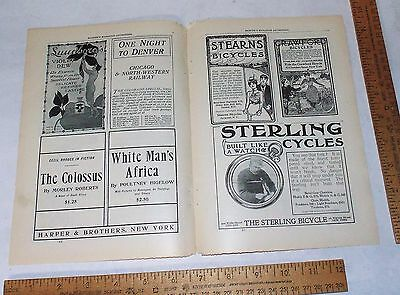 The STERLING BICYCLE - June 1900 - paper Advertisement - Magazine Ad