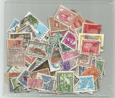 162 Different Used Latin America Stamps
