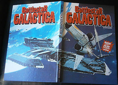 Battlestar Galactica Storybook Annual - Not price clipped - Book of The Film