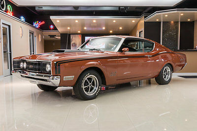 1969 Mercury Cyclone  Fully Restored CJ! 428ci Cobra Jet V8 Engine, Toploader 4-Speed Manual, PB, Disc