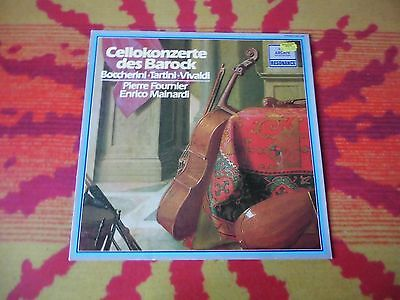 ♫♫♫ Baroque Cello Concerts - Fournier/Mainardi * Archiv 2547046 ♫♫♫