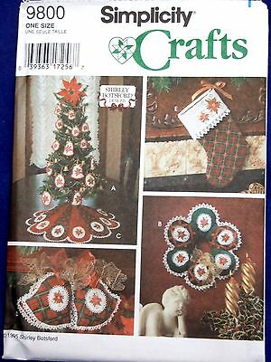 Uncut Simplicity 0632 Christmas Sewing Pattern Stockingstree