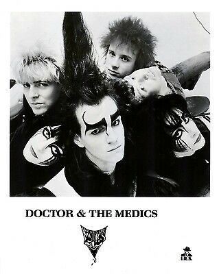 """Doctor and the Medics 10"""" x 8"""" Photograph no 1"""