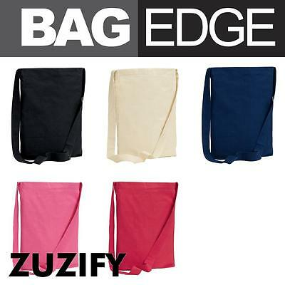 BAGedge Cotton Canvas Sling Tote Bag. BE056