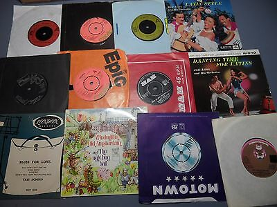 """JOB LOT 20 7"""" SINGLE VINYL RECORDS MOSTLY FROM THE 1970's"""